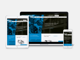 Custom Fittings Web Design Portfolio