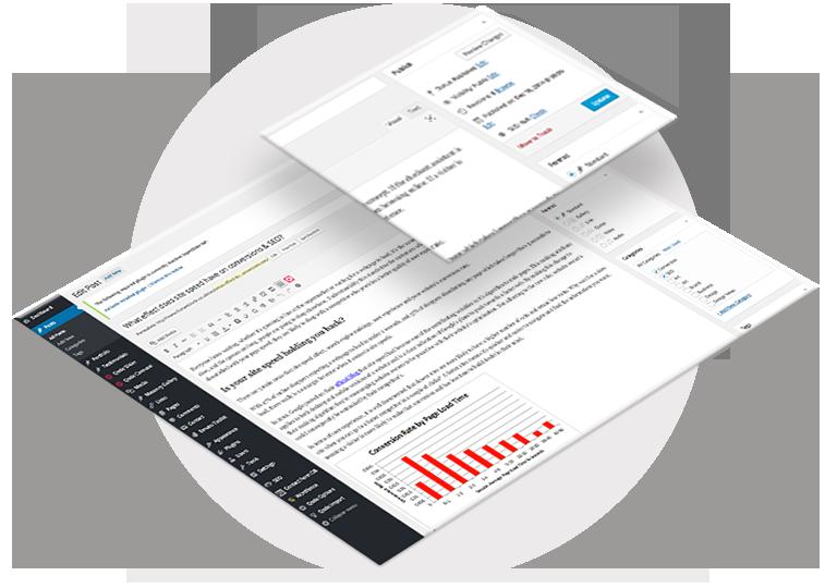 WordPress Website Content Management System
