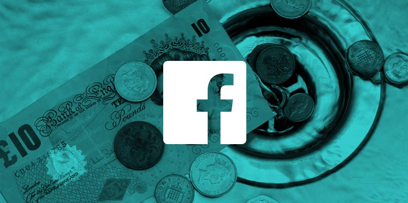 Facebook money down the drain