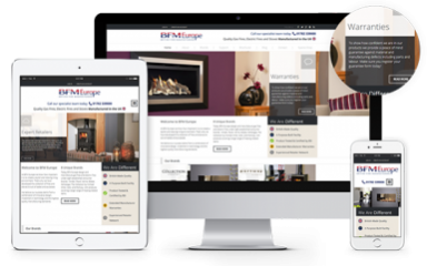 Responsive Website Design Leeds, Website Design Portfolio Example