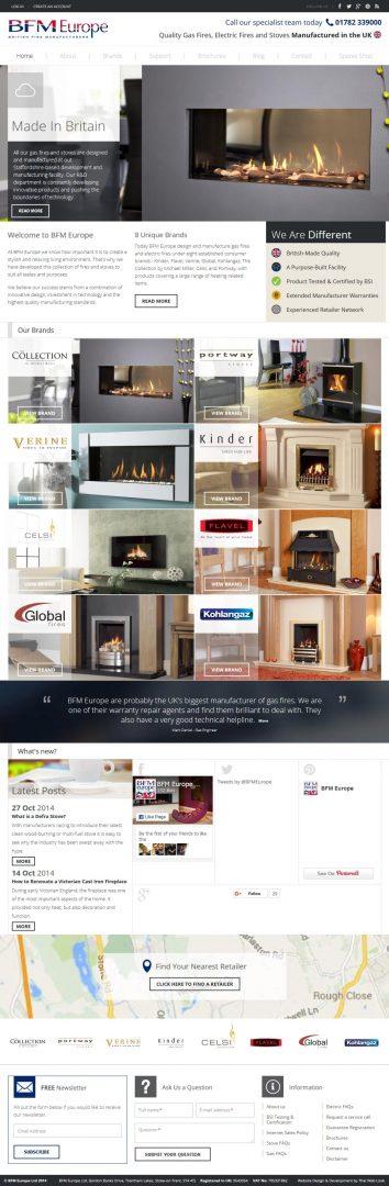 Website Design Leeds, Website Design Portfolio Example