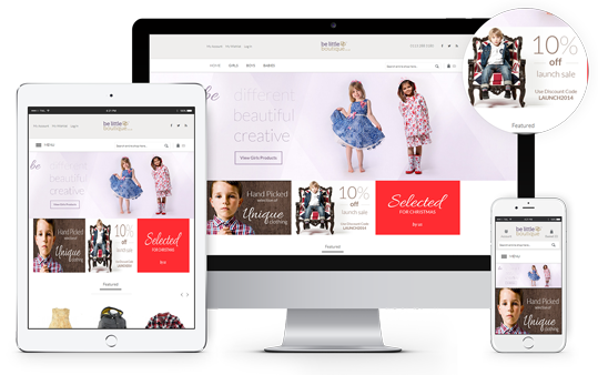 Ecommerce Website Design Leeds, Responsive Website Design Leeds, Website Design Portfolio Example