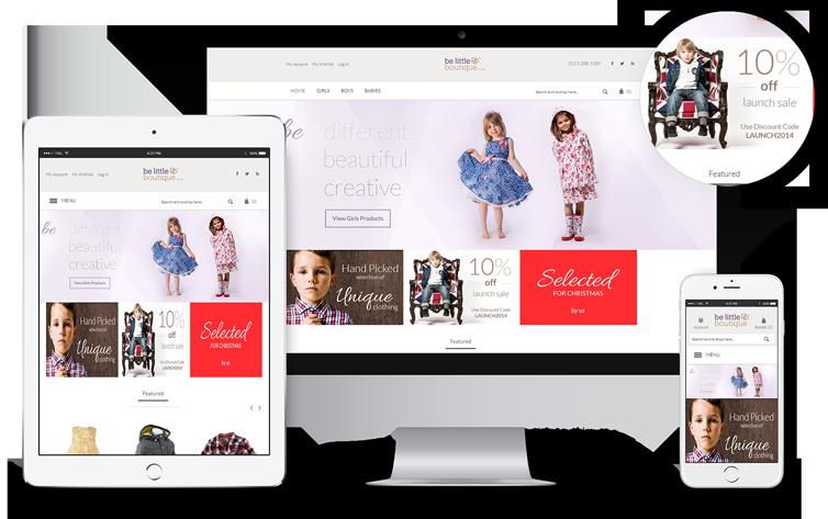 Ecommerce Website Design Leeds, Responsive Website Design Leeds, Website Design Portfolio Example