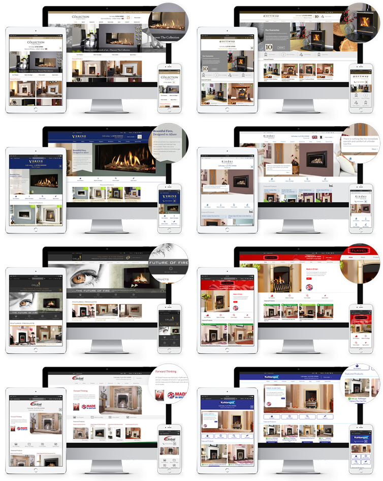 Responsive Website Design London & Leeds Portfolio Example