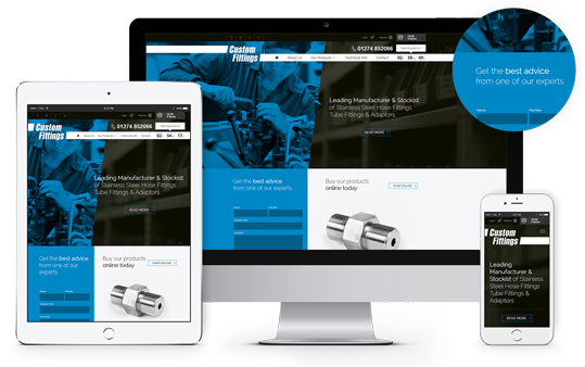 Eccomerce Website Design London & Leeds, Responsive Website Design London & Leeds, Website Design Portfolio Example