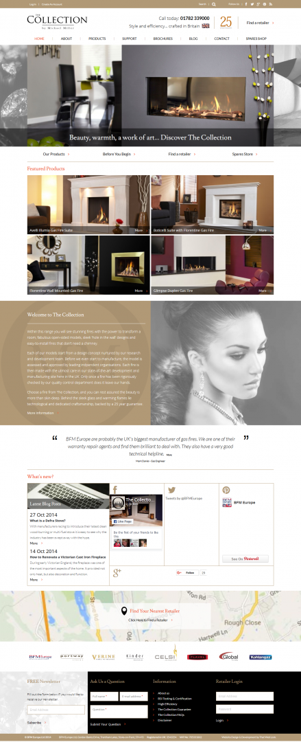 Website Design London & Leeds Portfolio Example