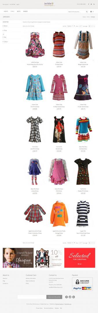 Ecommerce Website Design Leeds, Website Design Portfolio Example