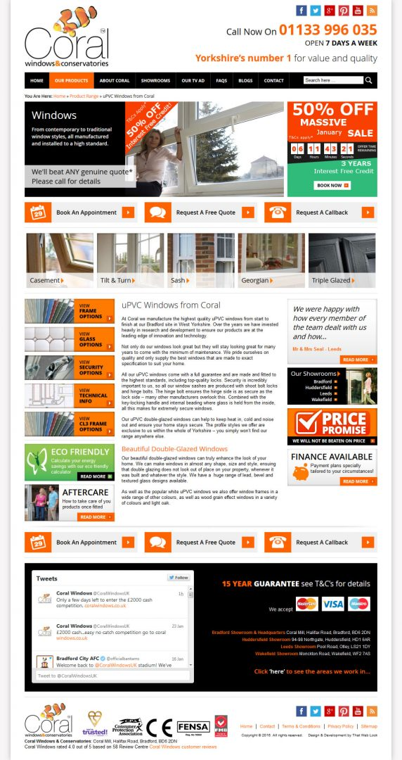 Website Design London & Leeds, Website Design Portfolio Example