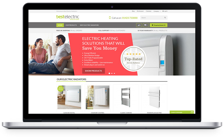 Professional Website Design Leeds